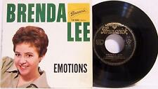 Brenda Lee Emotions + 3 - France Import EP With Picture Sleeve