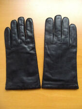 BRAND NEW MEN MAN BLACK LEATHER GLOVES SIZE LARGE 4 ITEMS AVAILABLE