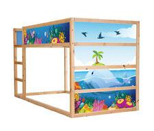 Unterwasserwelt-Möbelsticker / Aufkleber für KURA von IKEA - Möbelfolie - IM140