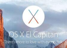 Apple Mac OS X El Capitan USB Bootable Drive & Recovery 16GB fastinstallation