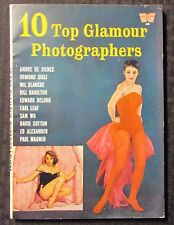 1959 10 TOP GLAMOUR PHOTOGRAPHERS Magazine #26 VG+ 4.5 Bettie Betty Page