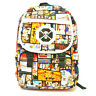 Anime ONE PIECE Portgas D Ace Cosplay Backpack Satchel Student Bookbag Purse New