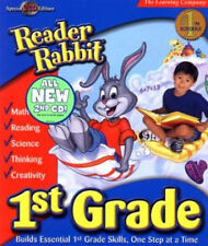 Reader Rabbit 1st Grade  Special 2 CD Edition  Math, Language Arts, Thinking NEW