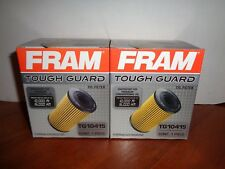 Lot of 2 Fram Tough Guard 10,000 Mile Engine Oil Filters with Gaskets TG10415