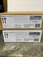 NEW Dyson Supersonic Hair Dryer Grey Iron/BLUE Shrink Wrapped Factory Sealed