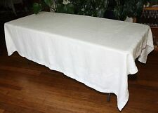 Irish Linen Tablecloth
