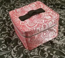Soap&Glory Pink & Silver Patterned Case Jonathan Saunders Limited Edition NEW