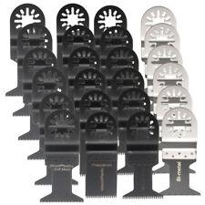 24pcs Oscillating Multi Tool Saw Blades Set for Fein Multimaster Makita Bosch