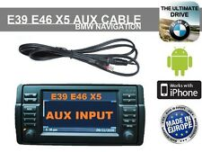 Cable AUX Bmw Série 3 : E46 & Série X5 : E53 avec Gps 16/9 iphone ipad Etc ...