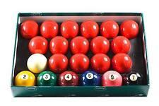 Belgian Aramith Premier Snooker Balls w/ #s - 2 1/8 inch - FREE US SHIPPING