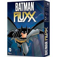 Batman Fluxx coffret jeu de cartes 2-6 joueurs Age 8 + 100 cartes