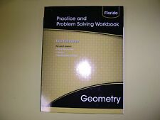 Prentice Hall Geometry Practice and Problem Solving Workbook (Florida) @2015