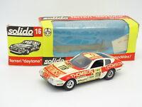 Solido 1/43 - Ferrari 365 GTB 4 Daytona Le Mans 1973 Thomson N°118 (b)