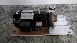 Dayton 2ZWT5B 2 HP 3450 RPM 208-240/480VAC Straight Centrifugal High Flow Pump