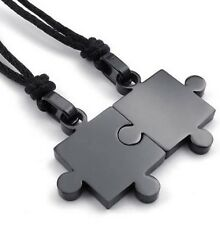 Halskette Best Friend Puzzle Freundschaftskette Edelstahl beste Freunde Herz
