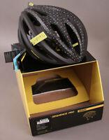 Mavic Sequence Road Gravel Racing Bicycle Helmet After Dark LARGE MSRP $170