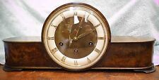 Antique Junghans Deco Style Mantle Clock – Westminster Chime – 8 Day T/S – Runs