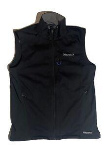 Marmot Gore Windstopper Vest Black Polyester Waterproof Men's Medium