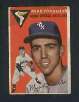 1954 Topps #154 Mike Fornieles VG/VGEX RC Rookie White Sox 96630