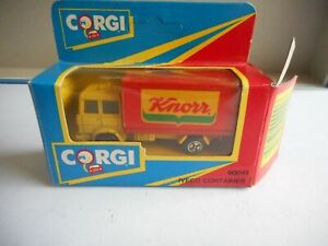 Corgi Junior Iveco Container Knorr + a box (Wrong one is for 90041)