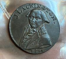 GB 1/2 Penny 1794 Token AUNC