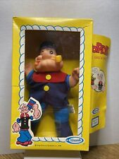 Vintage 1979 Popeye The Sailor Man Soft Vinyl Doll Figure by Uneeda