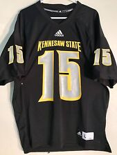 Adidas NCAA Jersey Kennesaw State Owls #15 Black sz L