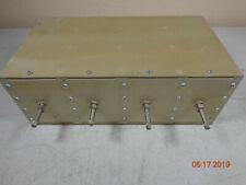 Emr Uhf Radio repeater Band pass cavity duplexer 65534 w/brackets tuned 460.375