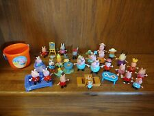 Peppa Pig & Friends Figures & Accessories Toy Lot (34 Total Pieces)