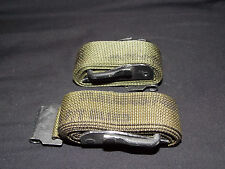 2 Military Issue LC-1 Alice Pack OD Green Cargo/ Utility Strap Exc
