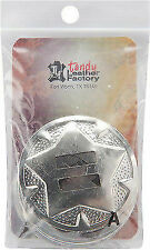 Time Piece Gear Concho Tandy Leather 71509-02 w//moving gears *FREE SHIPPING!!