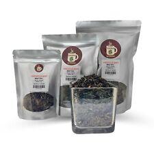Hibiscus Mint Loose Leaf Tea Herbal Tisane served ICED or HOT