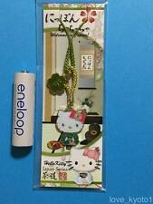 F/S Hello Kitty Japanese Style Tea Ceremony Key Chain Strap from Japan