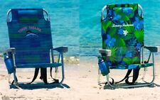 2018 Tommy Bahama 2 x Backpack Cooler Beach Chair Seat Storage | Blue+Green New