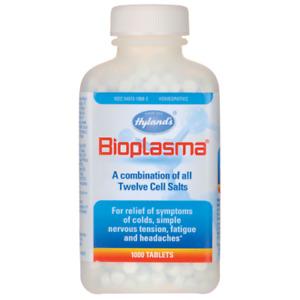 Hyland's, Bioplasma, 500 Tablets Sea Salts delivers 12 cell salts