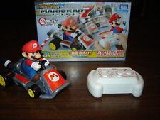 TAKARA TOMY Mario Kart 7 RC Remote Control Mario Kart Drift IR Infrared R/C NM