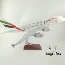 EMIRATES Airlines Airbus A380 A6-EDD Aircraft Alloy Diecast Plane Model 45CM