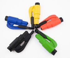 ResQMe Car Escape Rescue Tool Keychain Glass Breaker & Seatbelt Cutter NEW