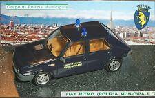 # 1/43 FIAT RITMO VIGILI URBANI CITTA' DI TORINO (POLIZIA MUNICIPALE) CODE3 MIB#