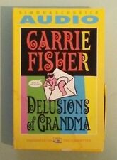 carrie fisher  DELUSIONS OF GRANDMA   CASSETTE TAPE