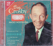DOUBLE CD 49T BING CROSBY RADIO NOSTALGIA DE 2008 NEUF SCELLE