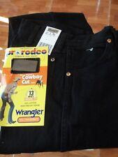 Men's Wrangler Black Slim Fit Cowboy Cut 936WBK  27 x 36 NWT