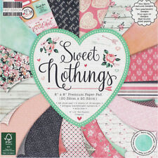 Sweet Nothings Premium Paper Pad - 12 x 12 Inches, Craft Supplies, Brand New