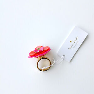 Kate spade New York rosy posies ring, size 6