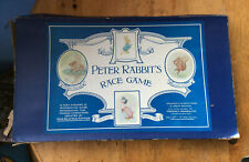 Peter Rabbit's Race Game, boxed vintage board game, 1950s