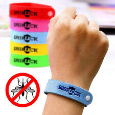 Convenient 10pc Effective Natural Mosquito Repellent Bracelet Trip Anti Mosquito