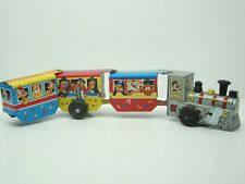 LIN MAR TOYS - CHOO CHOO TRAIN - TIN TOYS - VINTAGE -