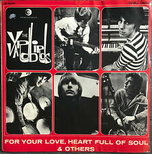 THE YARDBIRDS For Your Love, Heart Full Of Soul 1965 LP Italy Psyche Rock Blues