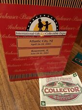 Anheuser-Busch AB Budweiser Bud Stein 2002 cs530 special event A Proud Heritage