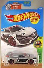 2016 Hot Wheels #79 HW Exotics 9/10 RENAULT SPORT R.S. 01 Silver DHX22-D9B0N